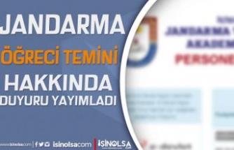 Jandarma Adayların Beklediği Ek Listeyi Yayımladı! Lisansüstü Değerlendirme Sınavı