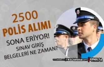 Lise Mezunu 2500 Polis Alımı Sona Eriyor! 2021 PMYO Sınav Giriş Belgeleri?