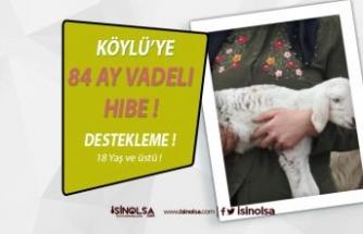 Vatandaşların Dikkatine !!! 84 Ay Vadeli Hibe Desteği Verilecek!!!