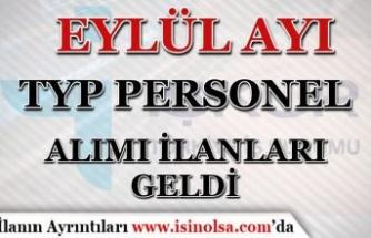 Eylül Ayı İŞKUR TYP Personel Alımı İlanları! MEB Temizlik ve Güvenlik Alımı