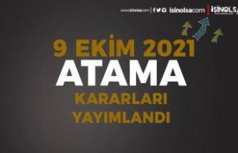 9 Ekim Resmi Gazete Atama Kararları: MEB ve Sağlık Bakanlığı