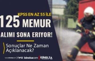 Antalya Büyükşehir Belediyesi 125 İtfaiye Eri Alımı Sonuçları Ne Zaman?
