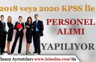 Banka 2018 veya 2020 KPSS 50 Puan İle 27 Personel Alımı Yapıyor