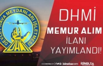Devlet Hava Meydanları İşletmesi ( DHMİ ) 5 Memur Alımı ( Müfettiş Yardımcısı )