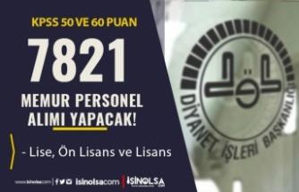 Diyanet İşleri Başkanlığı 7821 Memur Personel Alımı Başvuruları Ne Zaman?