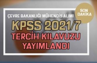 ÖSYM KPSS 2021/7 Tercih Kılavuzu Yayımladı! ÇŞB 25 Mühendis Alımı