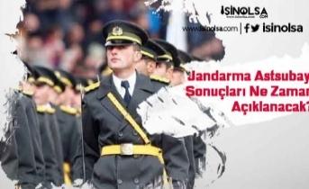 Jandarma Astsubay Sonuçları Ne Zaman Açıklanacak?