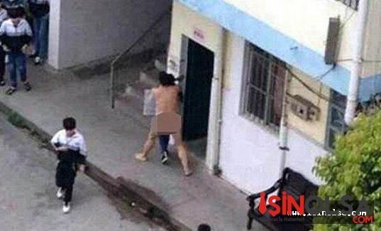 Çin'de öğrencisine tecavüz etmek isteyen öğretmen son anda yakalandı