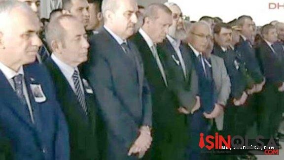Erdoğan şehit olan Binbaşının cenazesine katıldı