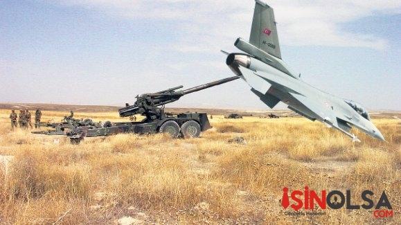 İŞİD Mevzileri Tek Tek Vuruldu