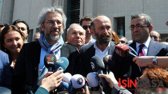 MİT TIR'ları davasında  Erdem Gül'e 10 Can Dündar'a 31 yıl