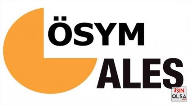 ALES Sınav Başvurusu için Geç Kalan Adaylar için Yeniden Hak Tanındı