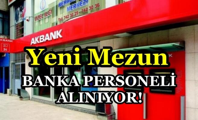 Akbank Yeni Mezun Banka Personeli Alımı Yapacak