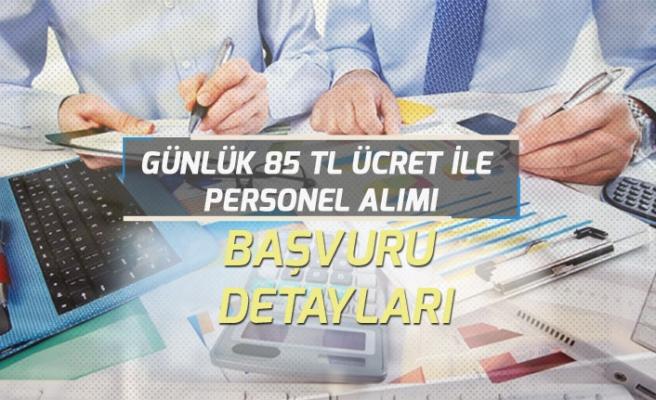 Günlük 85 Tl Ücret ile Türkiye Genelinde Personel Alımı!