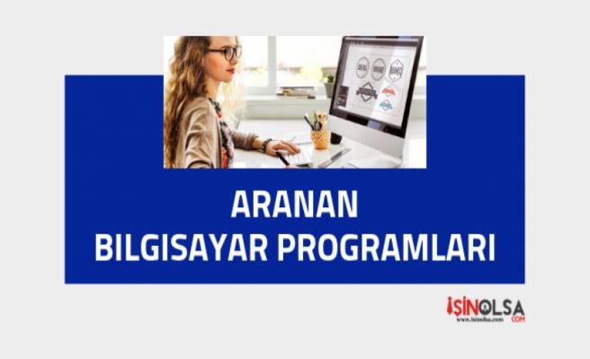 İş Başvurusunda Aranan Bilgisayar Programları Listesi