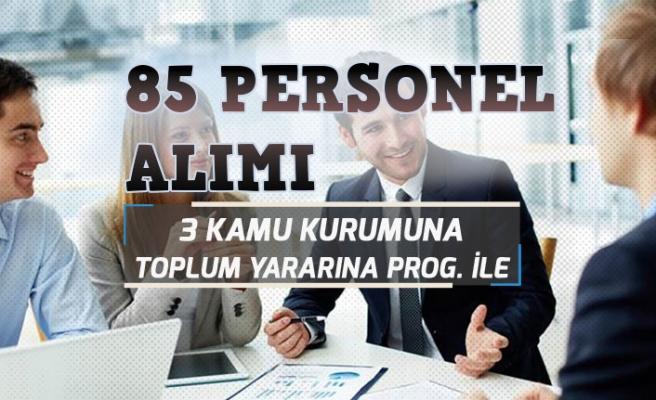 İŞKUR Orman İşletmesi, Belediye, İl Özel İdareye 85 TYP Alımı Yapacak!