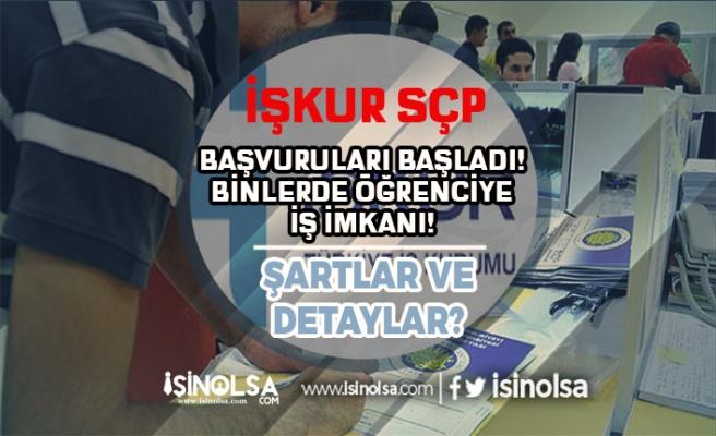 İŞKUR Sosyal Çalışma Programı ( SÇP ) ile Binlerce Öğrenciye İş Veriliyor! Başvurular Başladı