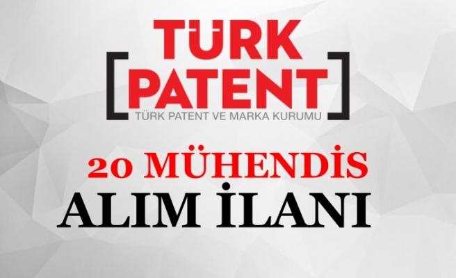 Türk Patent Kurumu 20 Mühendis Alım İlanı