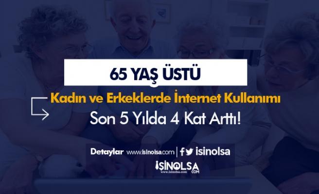 65 Yaş ve Üstü Yaşlılarda İnternet Kullanımı 4 Kat Arttı