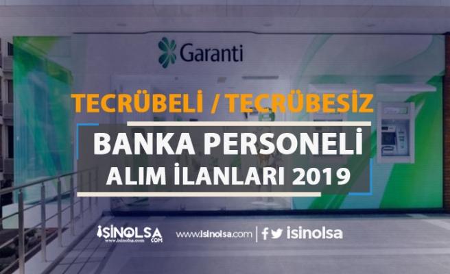 Garanti BBVA Tecrübeli Tecrübesiz Banka Personeli Alımı 2019
