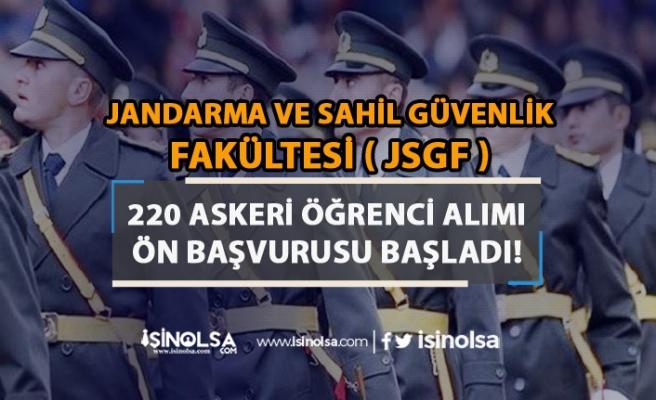 JSGF Lise Mezunu 220 Subay ( Askeri Öğrenci ) Alımı İçin Ön Başvurular Başladı!
