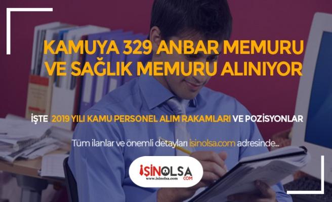 Kamuya 329 Anbar, ARFF, Sağlık Memuru ve Düz Memur Alınıyor