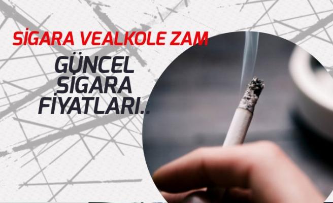 Sigara ve Alkole Zam Geldi. Güncel Sigara Fiyatları Ne Kadar Oldu?