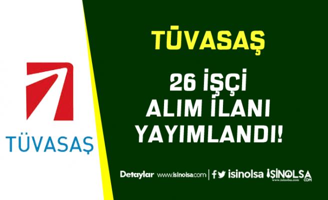 Türkiye Vagon Sanayii ( TÜVASAŞ ) 26 Sürekli İşçi Alacağını İlan Etti