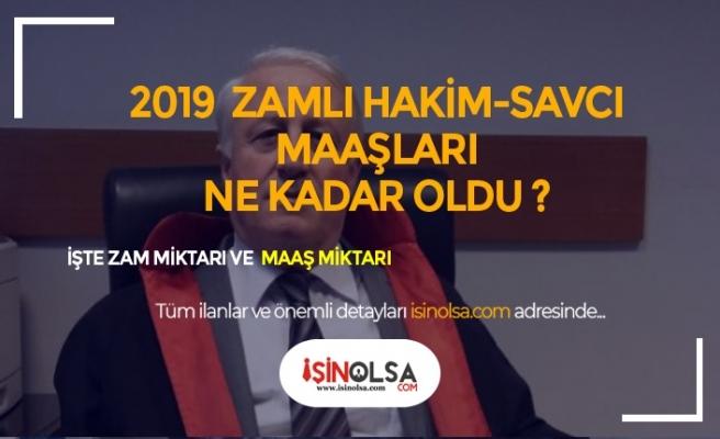 2019 Hakim ve Savcı Maaşları Ne Kadar?