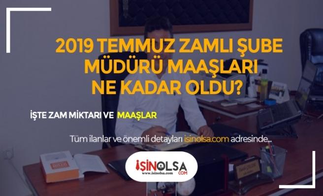 2019 Şube Müdürü Maaşları Ne Kadar?
