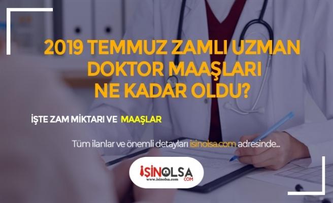 2019 Uzman ve Pratisyen Doktor Maaşları