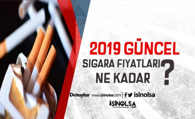 2019 Güncel Sigara Fiyatları Tablosu