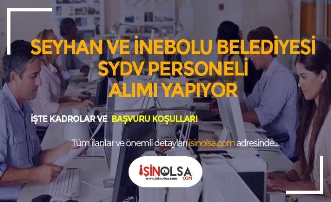 Adana Seyhan ve Kastamonu İnebolu SYDV8 Büro Görevlisi, Sosyal Yardım ve İnceleme Görevlisi, İşçi Alacak