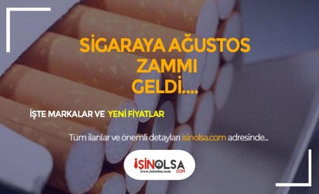 Ağustos'ta Sigaraya Yine Zam Geldi