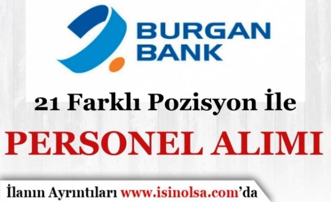 Burgan Bank 21 Farklı Pozisyon İle 2019 İş İlanları Personel Alımı