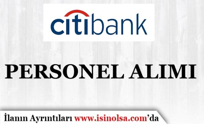 Citibank Personel Alımı 2019