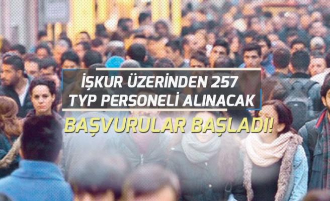 İŞKUR'dan Kamuya 257 Kişilik Toplum Yararın Programı Personel Alım İlanı Açıklandı!