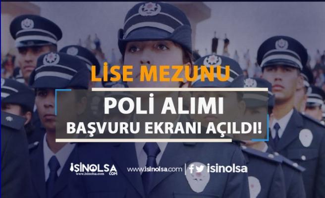 PMYO Kadın Erkek Polis Alımı Başvuru Sayfası Açıldı! Ön Başvuru Nasıl Yapılır?