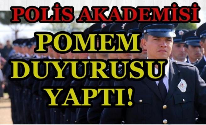 Polis Akademisinden POMEM Duyurusu Yayımlandı! Sınav Tarihi Belli Oldu