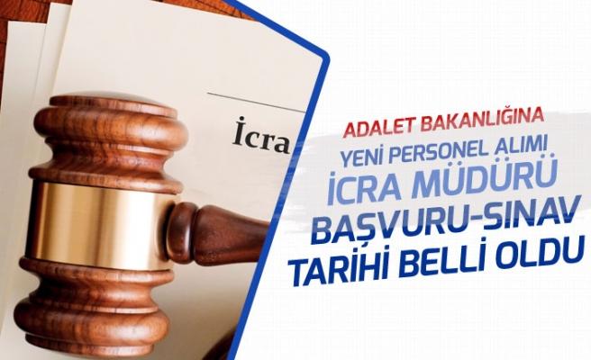 Adalet Bakanlığı Kurum Dışı İcra Müdür Yardımcısı Alımı Yapacak!