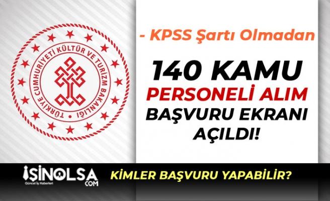 Bakanlığa 43 Şehirde 140 Güvenlik Görevlisi Alımı Başvuru Ekranı Açıldı!
