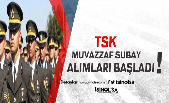 TSK Muvazzaf Subay Alıyor  !  Merak Edilenler ve Süreç Hakkında Detaylar