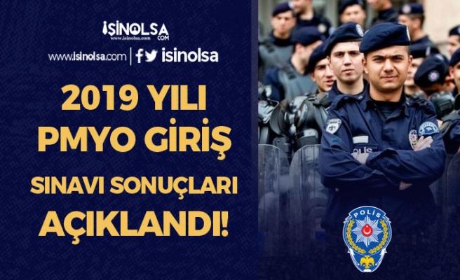 2019 Yılı 2500 Polis Öğrencisi Alımı Giriş Sınavı Sonuçları Açıklandı!