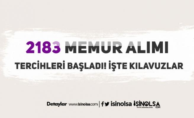 2828 Sosyal Hizmetler Kanunu Kapsamında 2183 Memur Alımı Tercihleri Başladı!