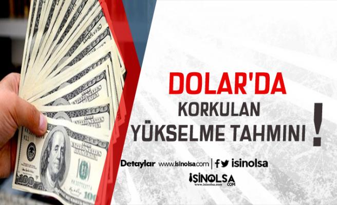 Dolar Seviyeyi Aşacak Mı? İşte O Korkutan Dolar Tahmini !