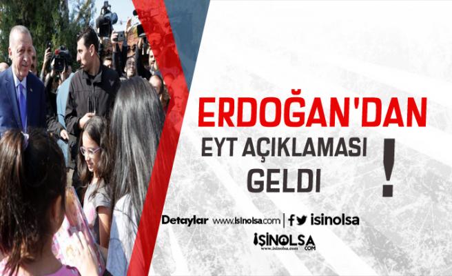 Erdoğan'dan Üzücü EYT Açıklaması! Son Durum Ne Oldu?z  b