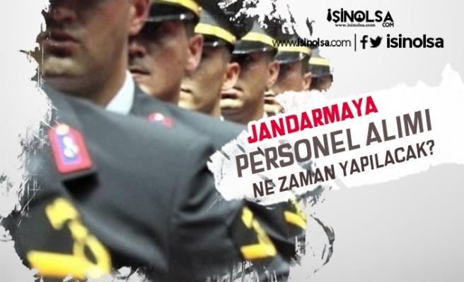 Jandarma Uzman Erbaş, Korucu, Onbaşı, Çavuş Alımları Ne Zaman? Şartlar Ne Olacak?