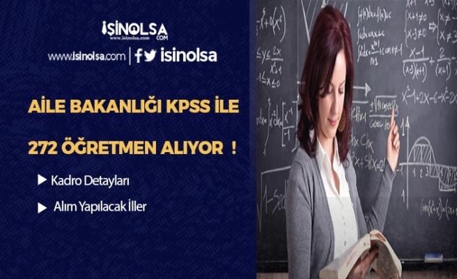 KPSS 2019/6'da 272 Öğretmen Alımı Yapılan İller ve Nitelik Kodları