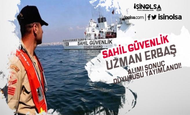Sahil Güvenlik Komutanlığı 2019 Yılı Uzman Erbaş Alımı Duyurusu Geldi!