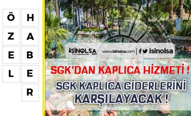 SGK'dan Kaplıca Desteği! Yaşlı ve Emekliler Ücretsiz Yararlanıyor!